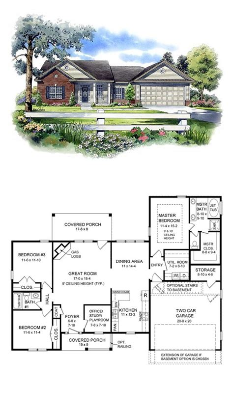 cool ranch house plans 16 best images about ranch house plans on pinterest breakfast bars bonus rooms and