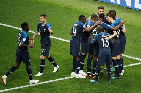 coupe du monde 2018 football de clairefontaine 224 moscou le formidable russe des