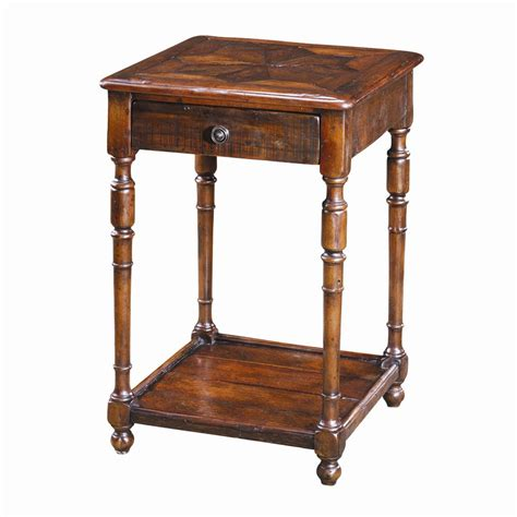 theodore tables traditional antique wood end