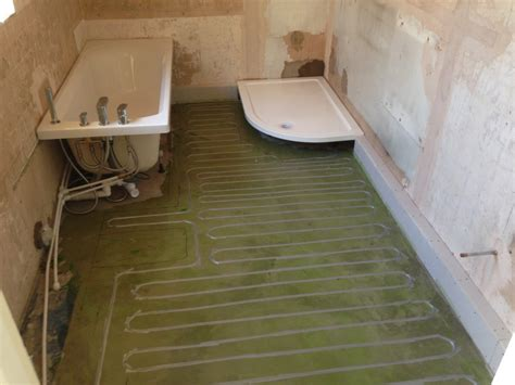 underfloor heating bathroom cost bathroom underfloor heating cost in floor bathroom heating