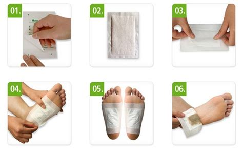 How To Apply Detox Foot Patch by Detox Foot Patch Foot Pads Foot Patches
