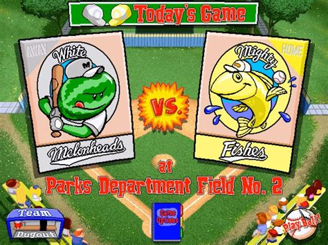 backyard baseball was the best sports