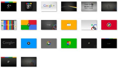 google themes for windows 7 google plus theme for windows 7