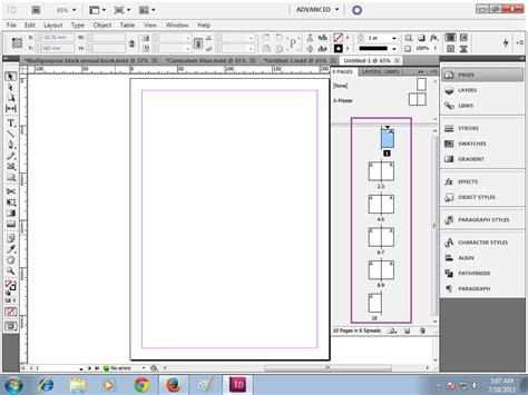 tutorial layout koran membuat penomoran halaman pada indesign devry segee