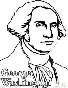 george washington coloring page color george washington coloring page education