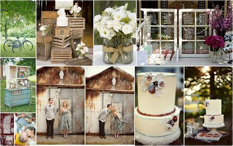 Country Vintage Decor by Vintage Style Country Vs S Wedding