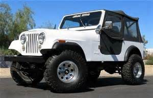 sell used no reserve 1985 jeep cj7 4x4 soft top 305