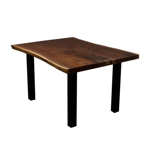 Walnut Kitchen Table by Crafted Live Edge Black Walnut Dining Kitchen