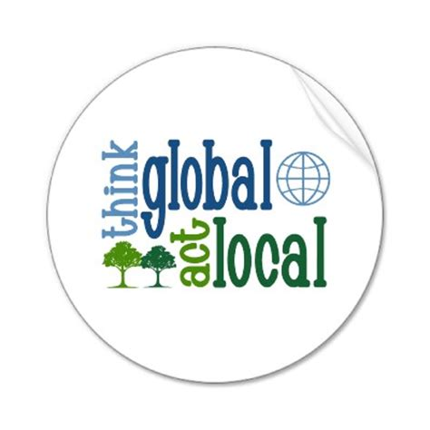 Shop Local Play Global Paper - think global act local smart brazil
