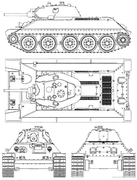 Blueprints > Tanks > Russian Tanks > T-34-76 T 34 Blueprints