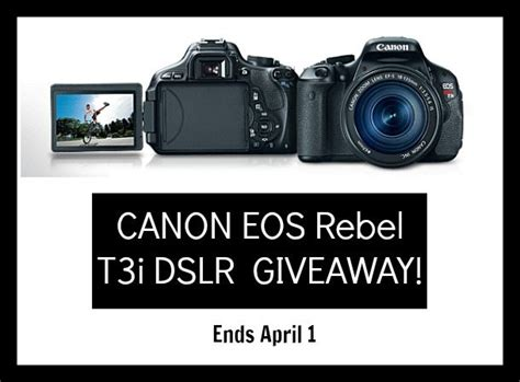 Free Camera Giveaway - camera giveaway about camera