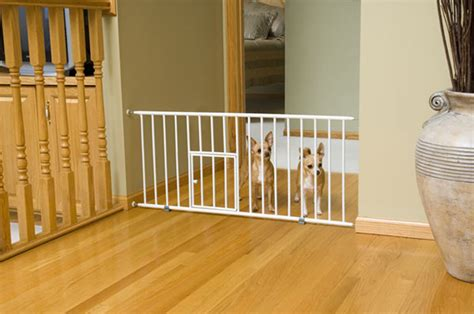 dog gates for small dogs in house carlson puppy small dog gate step over baby safety w little pet door ebay