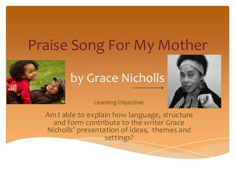 song for my grace nicholls praise song for my