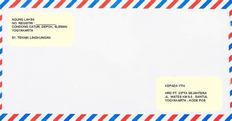 Tulisan Yang Ada Di Lop Lamaran Kerja by Contoh Lop Surat Lamaran Kerja Terbaik Dan Terbaru