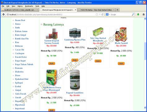 skripsi akuntansi e commerce skripsi e commerce toko obat bunafit komputer