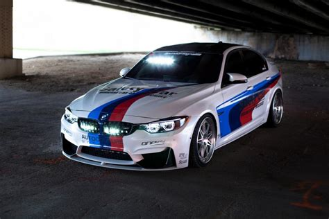 Bmw M3 Accessories by This F80 Bmw M3 Gets A Wrap And Performance Accessories