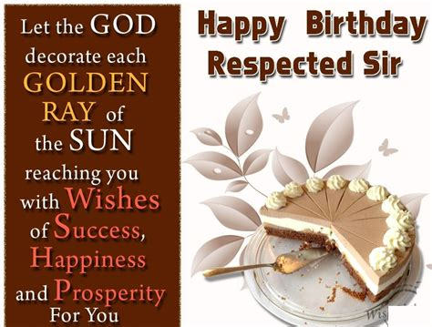happy birthday sir quotes images poem wishes