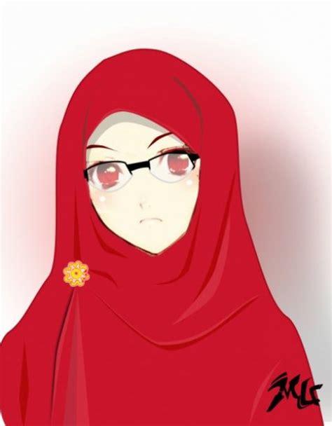 hijab kartun terbaru tutorial hijab terbaru