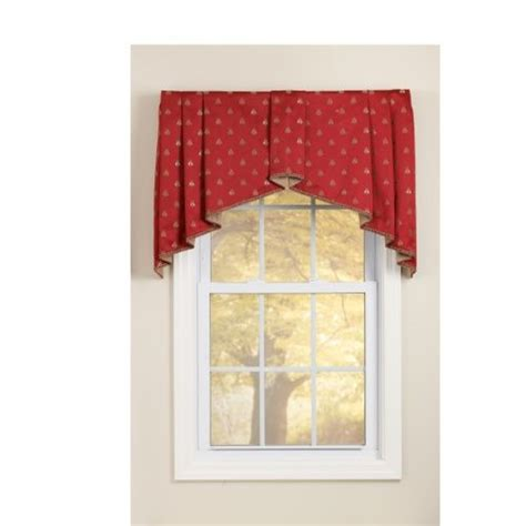 window treatment box box pleated valance window treatments