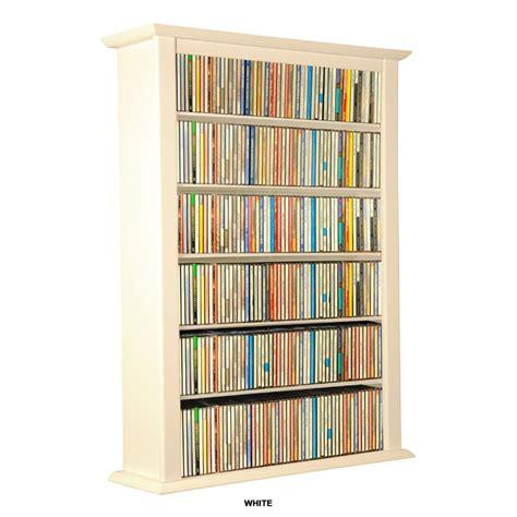 venture horizon single wall mounted media cabinet white