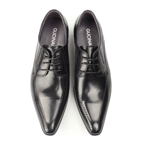 pointed sneakers gucinari hamilton mens leather formal smart evening lace