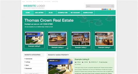 15 best real estate themes wpexplorer