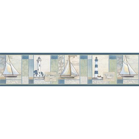 chesapeake mashpee white crossing wallpaper border