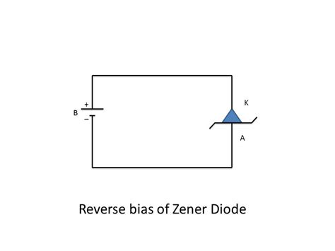 what is biasing of diode the zener diode instrumentation and engineering