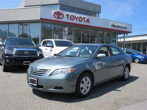 2008 Toyota Camry Mpg 2008 Toyota Camry Low Mileage 13998 New