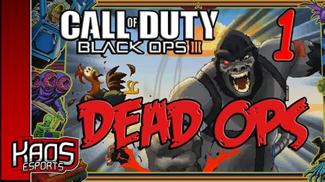 Kaos Call Of Duty Call Of Duty 60 black ops 3 dead ops 2 lets play part 1