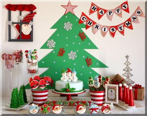decoracion de mesa de navidad sencilla mesas de postres navide 241 as las mejores ideas para esta
