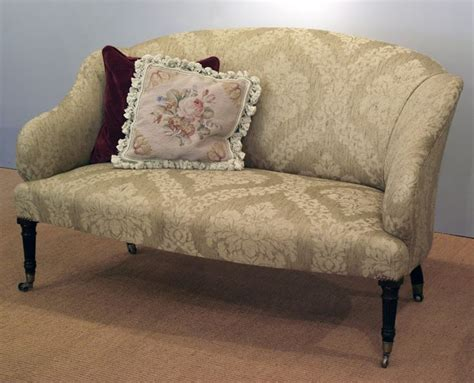 Small Fabric Armchairs by Small Georgian Sofa In Large Damask Fabric Best Sofas