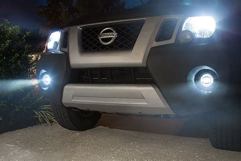 lights to kit 3 1 2 quot led projector fog lights conversion kit w halo