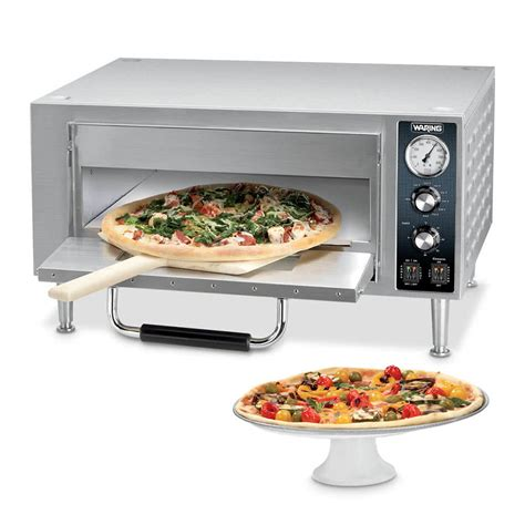 Pizza Oven Countertop waring wpo500 single deck countertop pizza oven