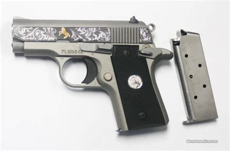 colt mustang pocketlite 380 colt mustang pocketlite 380 auto special edition engraved
