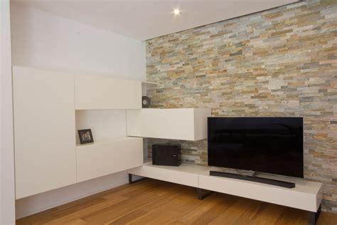 wohnzimmer tischle wohnzimmer mit stein wohnwand listberger tischlerei