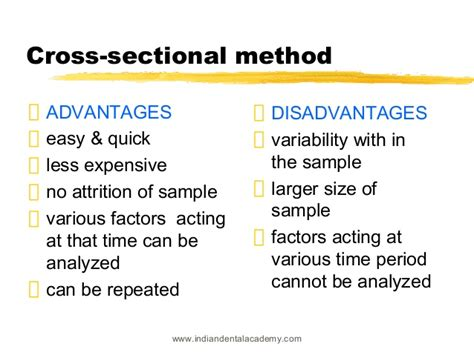 define cross sectional method what is a cross sectional study in psychology 28 images