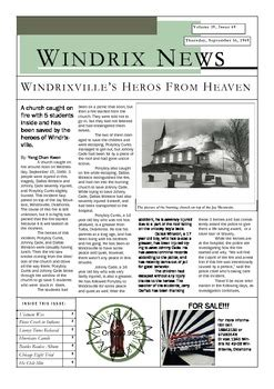 newspaper layout assignment outsiders writing task newspaper article point of