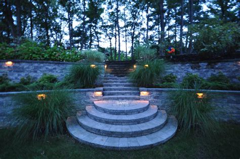 island landscape lighting design led solar