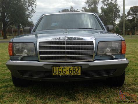 1985 mercedes 380sel in nsw