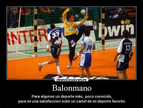 imagenes motivadoras de handball im 225 genes y carteles de balonmano desmotivaciones