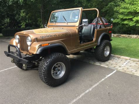 jeep golden eagle for sale 1980 jeep cj7 golden eagle jeep cj 1980 for sale