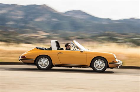 vintage porsche 911 convertible then vs now 1967 porsche 911s targa vs 2016 porsche 911