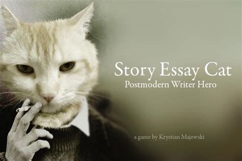 Cat In The Essay by Story Essay Cat
