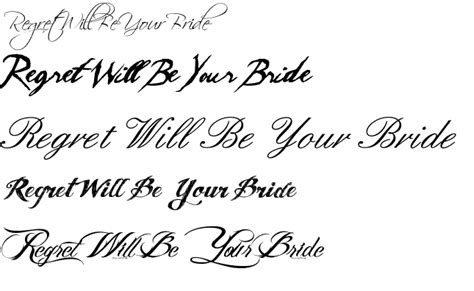 tattoo quote font ideas fonts characters popular designs