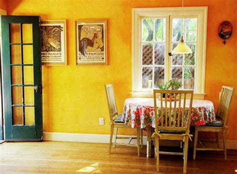 yellow color decorating interior design  color psychology