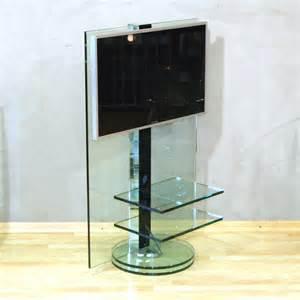 tv tisch drehbar nauhuri tv m 246 bel glas drehbar neuesten design