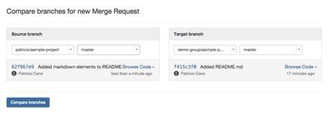 gitlab merge request workflow project forking workflow gitlab