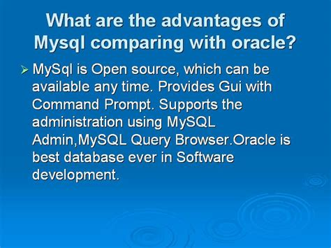 mysql tutorial interview questions basic advanced mysql interview questions with answers