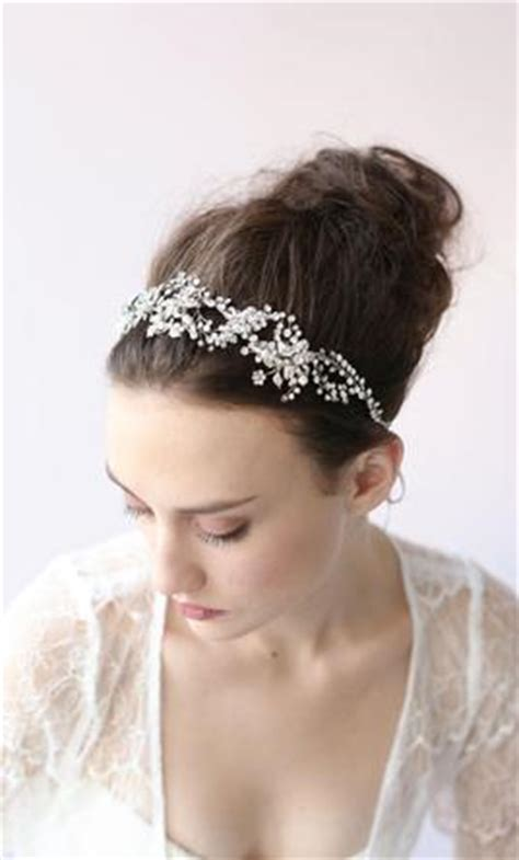 Wedding Hair Accessories Calgary by New Twigs Honey By Myra Callan Tiara Hair Accessory